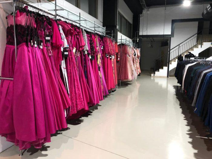 Vestidos de fiesta en Factory Vertize Gala Martorell