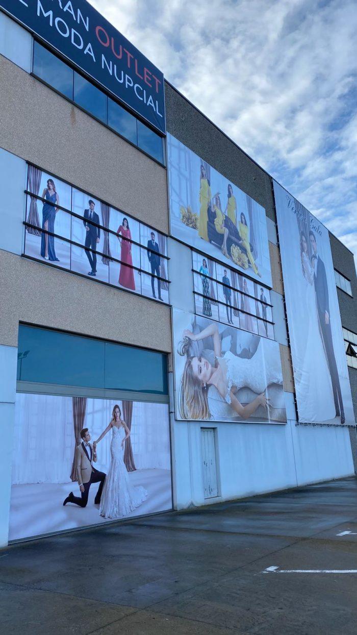 Fachada tienda Factory Vertizt Gala Martorell